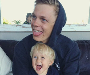 caspar lee, youtube, and cute image
