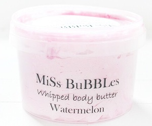 body butter, cosmetics, and pink image