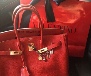 Valentino, luxury, and red image