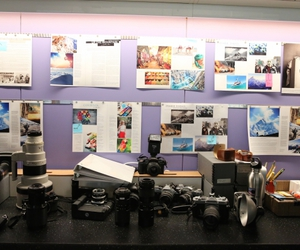 cbs, office, and photography image