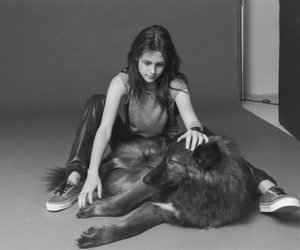 fille and loup image