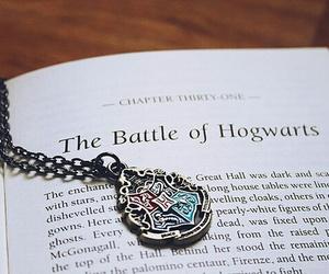 harry potter, book, and hogwarts image