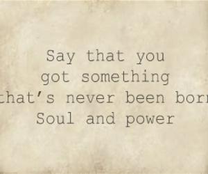 band, Lyrics, and power image