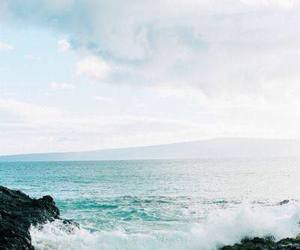freedom, ocean, and rocks image