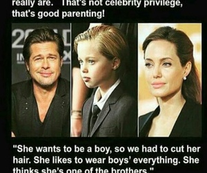 no way, perfect, and angelina's doughter image