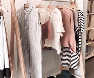 beautiful, closet, and clothes image