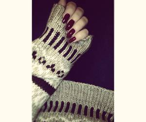 winter time, classy, and beige sweater image