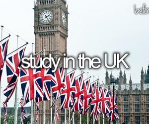 uk, study, and london image