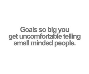 goals and quote image