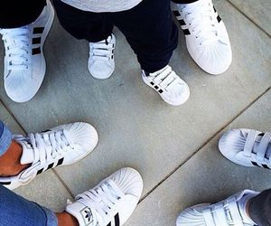 family, adidas, and shoes image