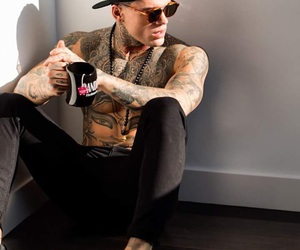 hot boy, Tattoos, and stephen james image