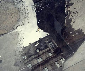 cigarette, london, and puddle image