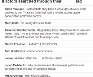 david tennant, Jensen Ackles, and jared padalecki image