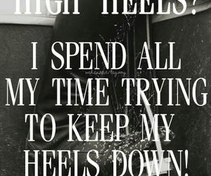 equestrian, friendship, and high heels image