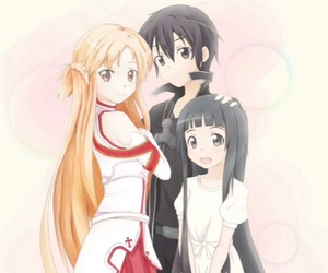 anime, sao, and yui image