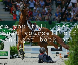 fall, horse, and quote image