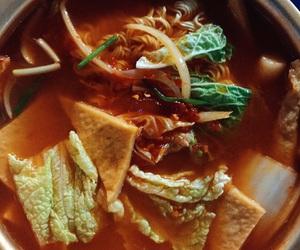 food, noodle, and yummy image