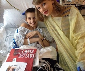 Taylor Swift and hospital image