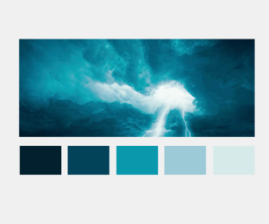 colours, harry potter, and palette image