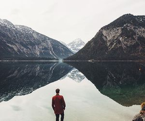 mountains, water, and natural image