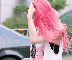 f(x), krystal, and hair image