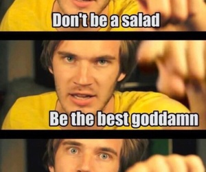 pewdiepie, funny, and broccoli image