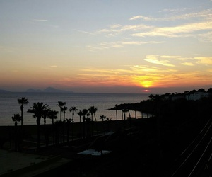 Naples, sea, and sunset image