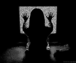 poltergeist and tv image