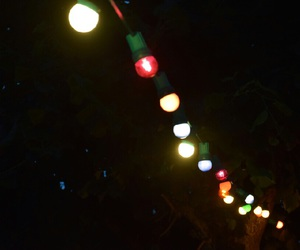 couleurs, lumiere, and nuit image
