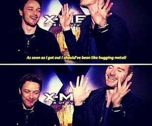 actor, james mcavoy, and magneto image