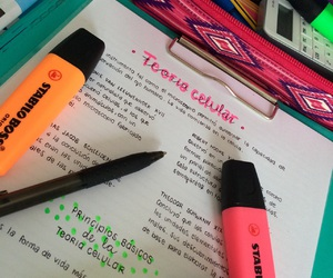 cell, girl, and notes image