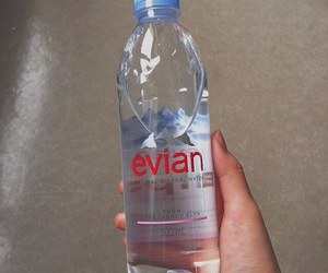 water, instagram, and evian image