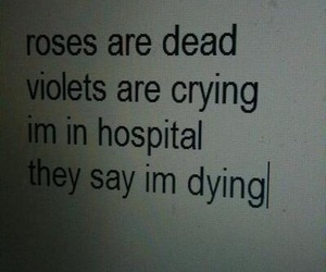 crying, dying, and hospital image