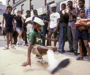 break dance, hip hop, and old school image