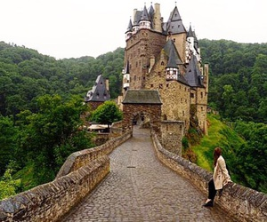 castle, places, and travel image