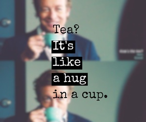 quote, tea, and mentalist image