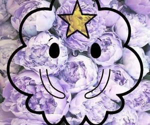 adventure time, flowers, and wallpaper image