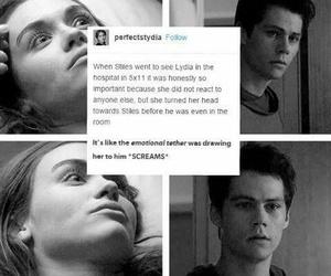 lydia, teen wolf, and season 5 image