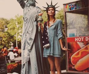america, Karlie Kloss, and liberty image
