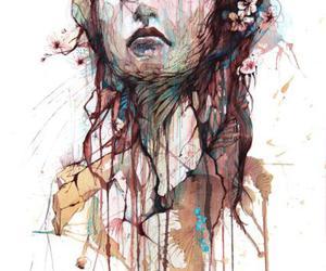 art, illustration, and carne griffiths image