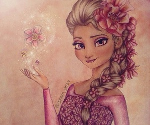 flowers, elsa, and beautiful image