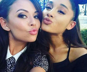ariana grande, pretty little liars, and janel parrish image