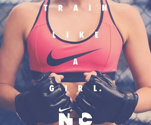 nike, training, and train image