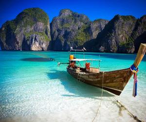 beach, summer, and thailand image