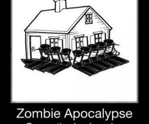 funny, zombie, and apocalypse image