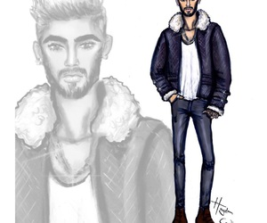 hayden williams and zayn malik image
