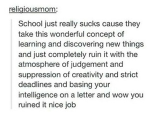 school, learning, and judgement image