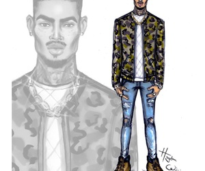 hayden williams, chris brown, and illustration image