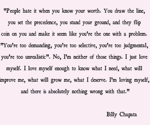 quote, quotes, and billy chapata image
