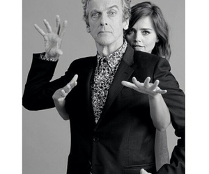 doctor who, clara oswald, and twelfth image